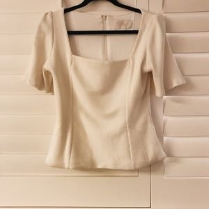 Stone Cold Fox Square Neck Blouse